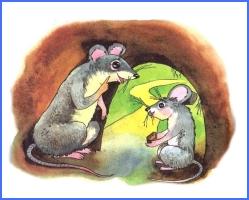 Дві мишки (українська народна казка)