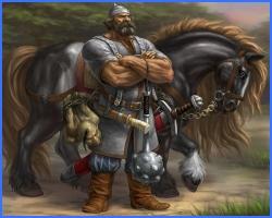 Іван-богатир і Білий Полянин (російська казка)