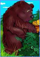 Як заєць ошукав ведмедя