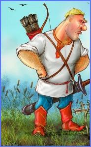 Казка про Івана-богатиря (українська народна казка)