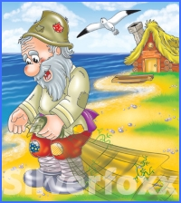 Казка про рибалку та його жінку (Брати Ґрімм)