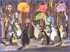 Коти (грецька казка)
