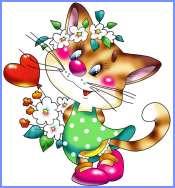 Киця і квачик (Марійка Підгірянка)