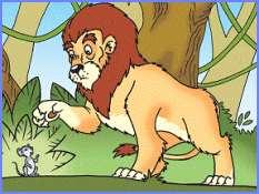 Лев і миша (єгипетська казка)