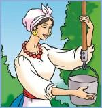 Лінива дівчина (українська народна казка)