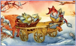 Лисичка-сестричка та вовчик-братик