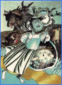 Міхурець-пухирець і його товариші (словацька казка)