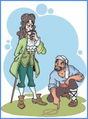 Насреддін–Ходжа та француз (боснійська казка)