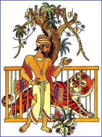 Невдячний тигр (індійська казка)