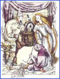 Про королівну, яка хотіла, щоб її слово було останнє (норвезька казка)