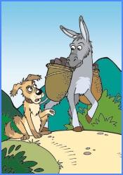 Селянин і його тварини (мексиканська казка)