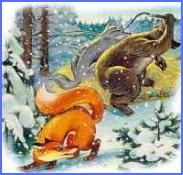 Ведмежа лапа (українська народна казка)