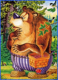 Danilo-burmilo the bear (ukrainian folk tale)