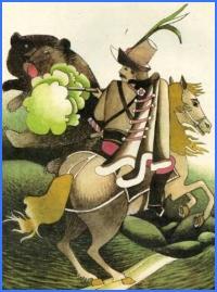 Ведмідь та комар (словацька казка)