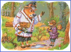 The Ox, the Ram and the Cock (ukrainian folk tale)