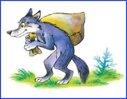 Вовк і лисиця (українська народна казка)