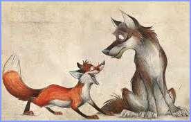 Вовк, лисиця та осел (І. Франко)