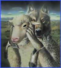 Вовк в овечій шкурі (українська народна казка)