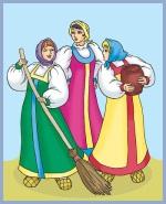 Як три невістки сперечались (російська казка)
