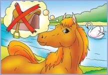 З коня верблюд (українська народна казка)