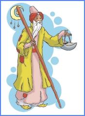 Залізний свічник (арабська казка)