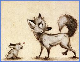 Заєць та лисиця (грецька казка)